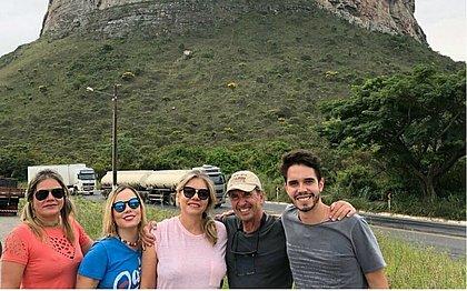 Deize estava de férias com a família que, minutos antes do acidente, registrou o passeio na Chapada Diamantina
