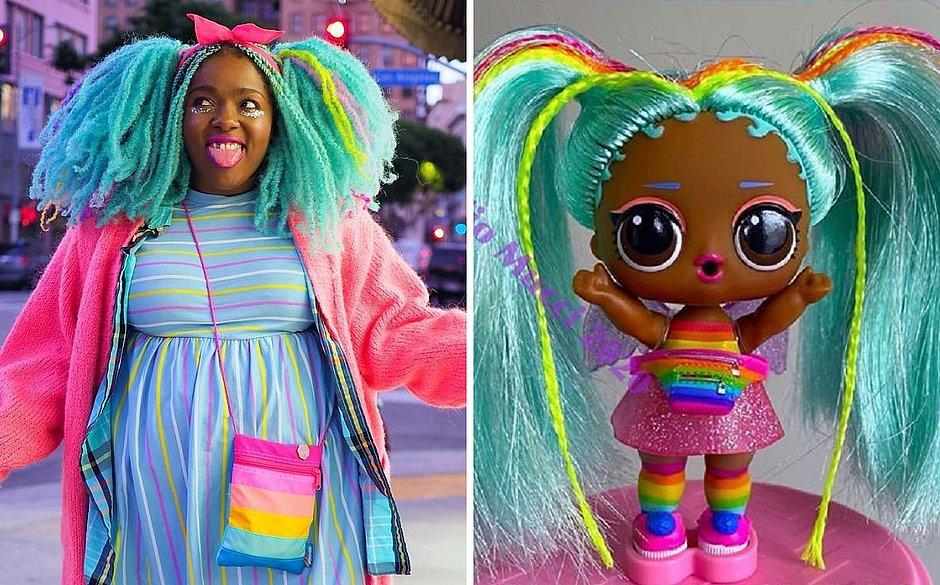 Influencer processa famosa empresa de bonecas por plágio de identidade