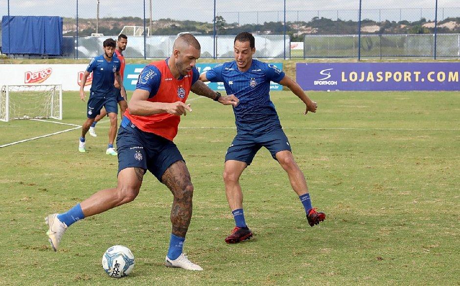 Bahia voltou aos treinos na manhã desta quinta-feira (2), na Cidade Tricolor