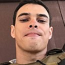 Tenente Mateus Grec, morto no domingo (12), sentia orgulho de vestir a farda