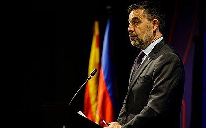 Josep Maria Bartomeu não é mais o presidente do Barcelona