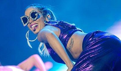 Anitta diz estar super tranquila com a estreia do no programa no Multishow