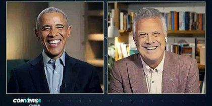 Conversa com Bial terá entrevista com Barack Obama
