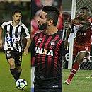 Matheus Silva, Jean Mota, Guilherme, Iago e Rogério são cinco dos sete novatos no Bahia