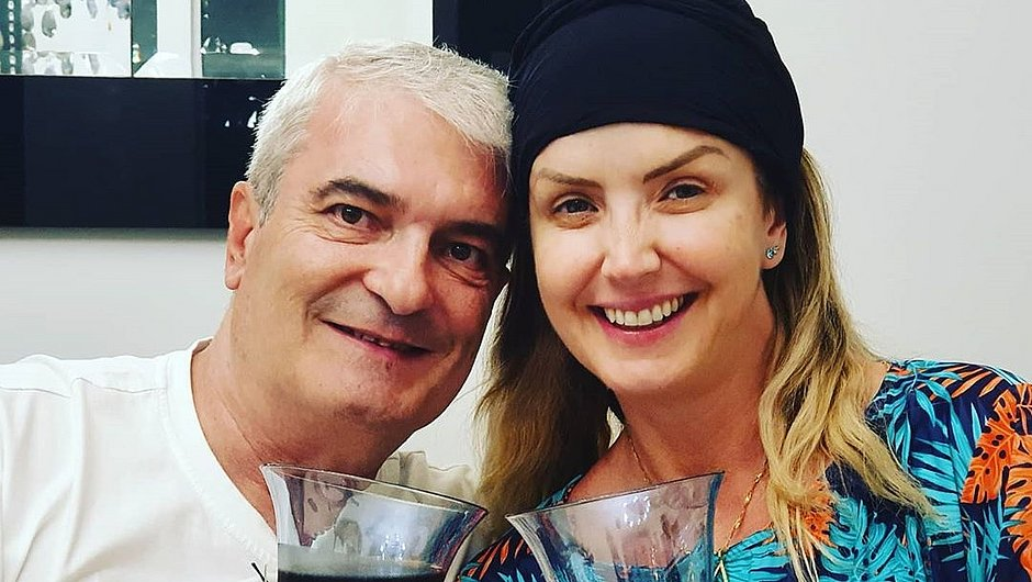 Alessandra Scatena homenageia marido morto por covid-19