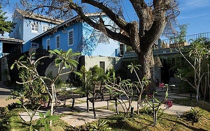 O Jardim do Sapotizeiro ganhou um charmoso ar de mirante, com um clima naturalista, oferecendo ao usuário um espaçode decoração e relax