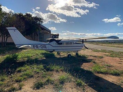 Avião usado pela quadrilha da traficante dona Maria vai ser leiloado na Bahia