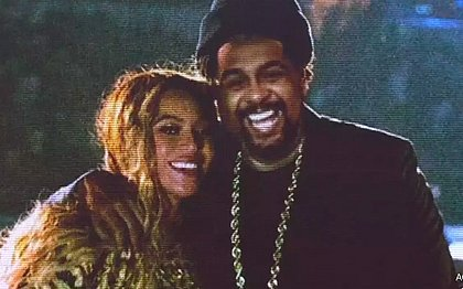 Perfil de Beyoncé manda mensagem a rapper baiano: 'Não posso falar'
