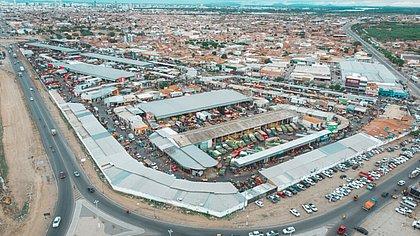 Vista aérea do Mercado Produtor de Juazeiro
