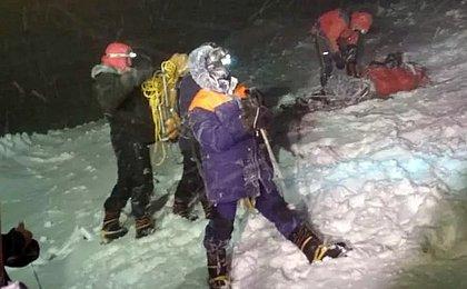 Tempestade de neve mata 5 alpinistas no Monte Elbrus, na Rússia
