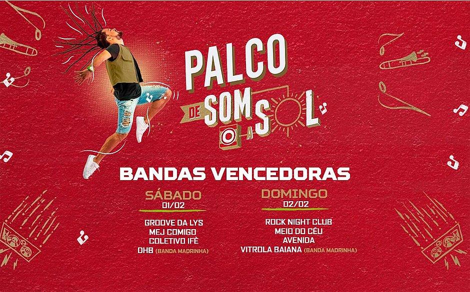 Festival de Verão divulga bandas vencedoras de concurso musical