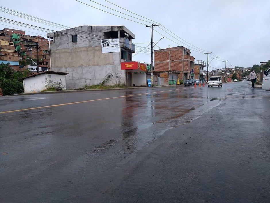 Trecho requalificado pela prefeitura