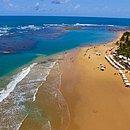 Taipu de Fora é uma das atrações da península de Maraú, no Sul baiano