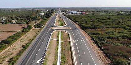 Governo federal entrega trecho de duplicação na BR-116, entre Feira e Santanópolis