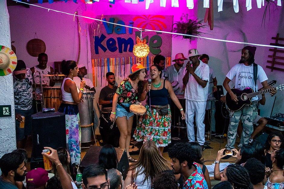 Samba Vai Kem Ké: festa resgata tradição do samba junino na Federação