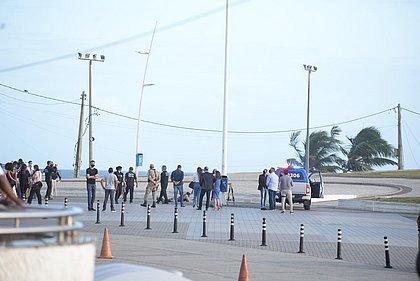 Peritos da Aspra são proibidos de participarem da simulação do soldado morto na Barra