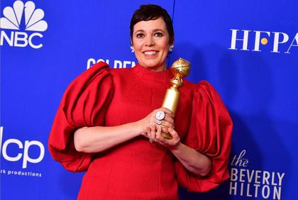 Olivia Colman venceu como atriz em série de TV, por The Crown, da Netflix