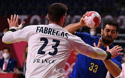 Seleção brasileira masculina de handebol é derrotada pela França