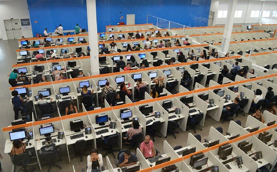 A Atento conta com 9.330 colaboradores na Bahia