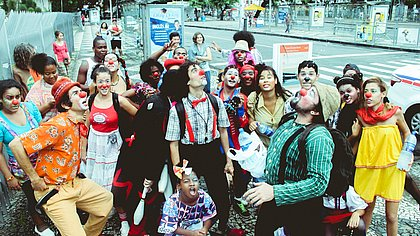 Grupo Pé de Circo na Cidade