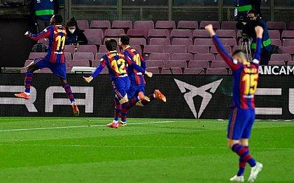 Dembélé anotou o único gol da partida