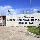Criança está internada no Hospital Regional do Marajó
