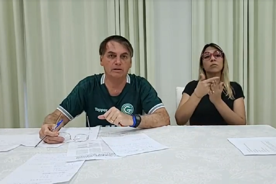 Bolsonaro: 'Defendo a paz e o repúdio ao terrorismo, conforme Artigo 4º'