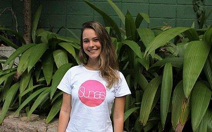 Aos 21 anos, Sarah desenvolveu e colocou em prática a Sunas, sua própria startup social