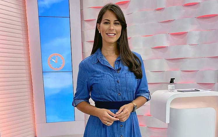 apresentadora