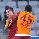 Marcão, camisa 45, foi expulso após agredir companheiro do Galatasaray