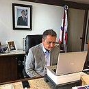 Rui Costa em conferência com governadores do Nordeste