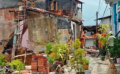 Sete casas já foram demolidas na Fazenda Grande do Retiro