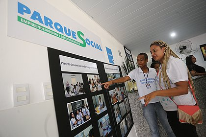 Parque Social, em Salvador, oferece capacitação em empreendedorismo social