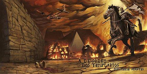 Encarte do álbum A Desordem dos Templários