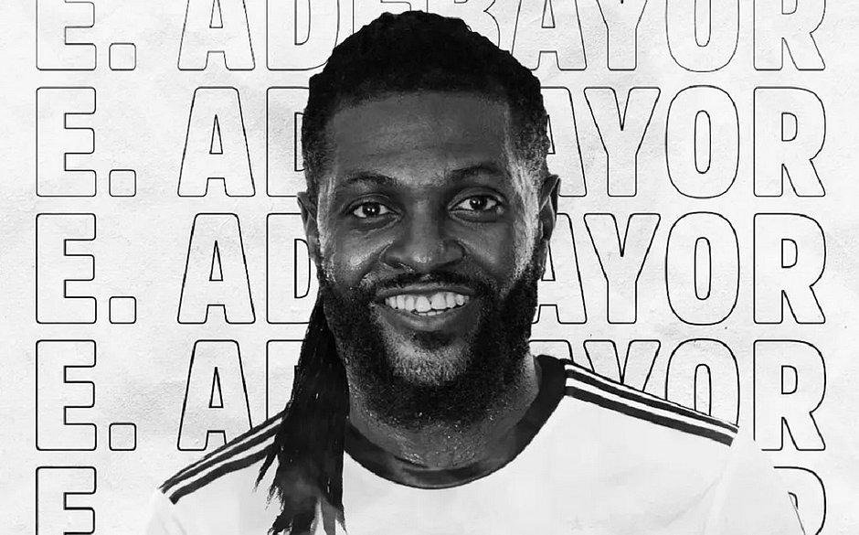 Olimpia anuncia contratação do atacante Adebayor, ex-Real Madrid