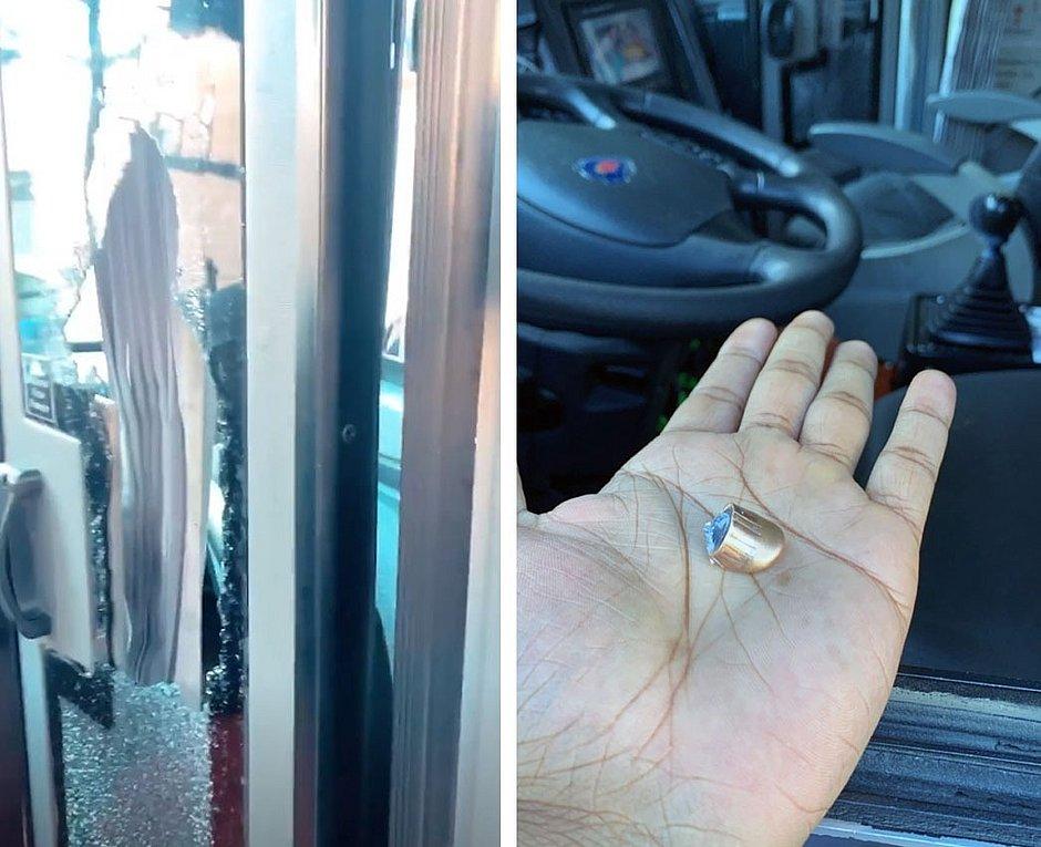 Bandidos atiram em ônibus da banda O Poeta em Camamu: 'deram três tiros'