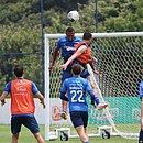 Bahia segue em preparação para o duelo contra o Fortaleza, sábado, no Castelão