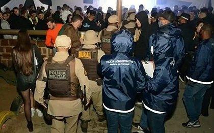 Eventos com mais de 500 pessoas são encerrados pela polícia em Conquista