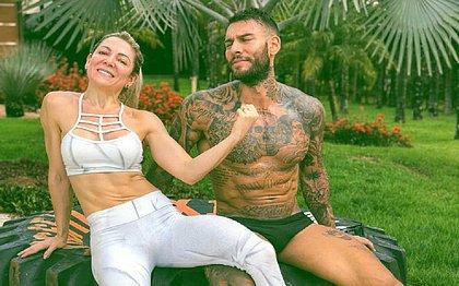 Musa fitness: mãe de Lucas Lucco perde 10 kg e bomba no Instagram