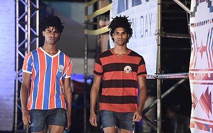 Os gêmeos Juan e Raul Santos participaram do Afro Fashion Day em 2016
