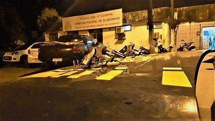 Quadrilha é presa quando tentava assaltar ônibus de turismo perto de Alagoinhas