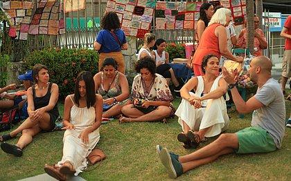 A iniciativa nasceu com um posicionamento de que a feira seria de artes feministas
