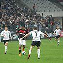 Vitória fez bom primeiro tempo e conseguiu segurar o Corinthians na etapa final