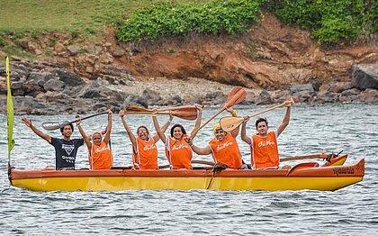 Um dos esportes mais disputados, a canoa havaiana vai estar disponível no último Sou Verão
