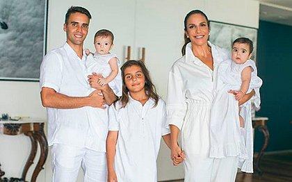 Ivete diz que se questionou se amaria as gêmeas como a Marcelo