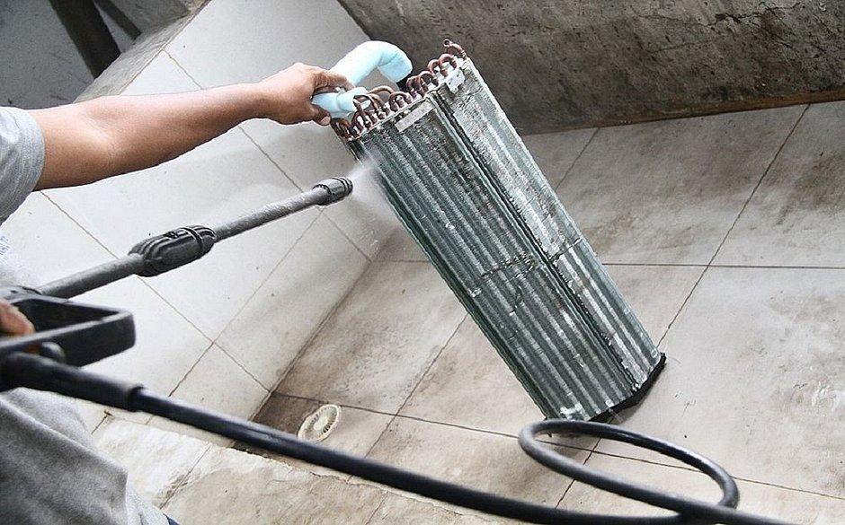 Limpeza do filtro do ar-condicionado é arma na luta contra o coronavírus