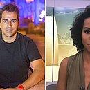Rodrigo e Maju: jornalista deve processar ex-diretor de TV