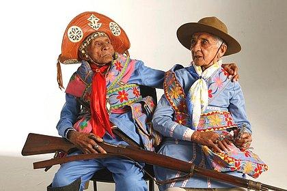 ovina Maria da Conceição e José Antonio Souto só revelaram que foram do bando de Lampião há pouco tempo