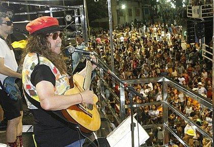 Moraes Moreira cantou sucessos como Chame Gente e Chão da Praça
