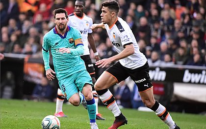 Barcelona perde para o Valencia por 2x0 no Campeonato Espanhol
